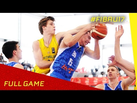 Australia v Bosnia and Herzegovina - R.o.16 - Full Game - FIBA U17 World Championship 2016