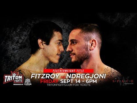 Albanian Wrestler Vilson Ndregjoni Fights For Triton Fights Belt September 14