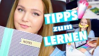 LERNTIPPS + TRICKS für die SCHULE | SCHOOL HACKS zum LERNEN | Bessere Noten | Deutsch 2016