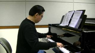 Theme from Il Postino (The Postman) - Marcel Talangbayan - piano