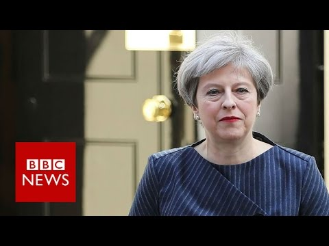 Theresa May: Opposition were 'frustrating' Brexit process - BBC News