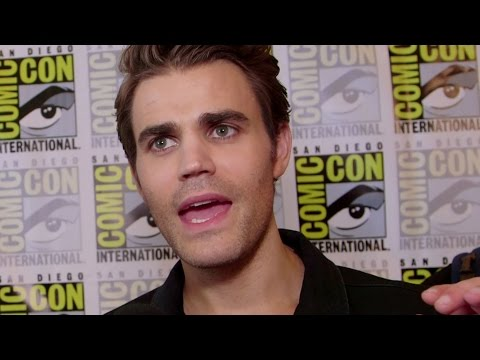 "Paul Wesley Interview ""The Vampire Diaries"" Season 8 - Comic Con 2016"