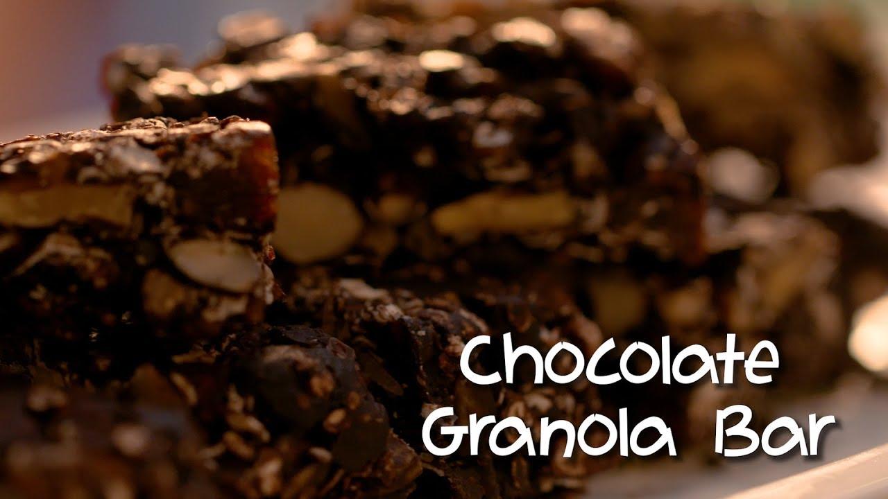 Download Chocolate Granola Bar   Granola Bars Recipe   Teacher's Day Special   Recipe By Amrita Raichand
