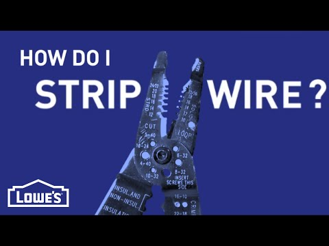 How Do I Strip a Wire? | DIY Basics