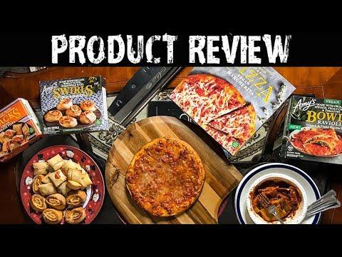 Amy's Pizza Swirls REVIEW (NEW) + Pizza & Ravioli (VEGAN)
