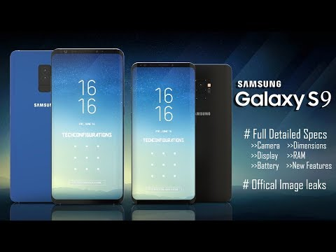 Samsung Galaxy S9&S9+ Detailed Final Specifications Leaked with Official Press Images