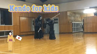 Kendo for kids in Japan