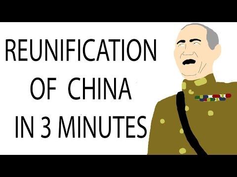 Reunification of China | 3 Minute History