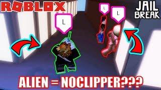 NOCLIPPING ALIENS???!!! | Roblox Jailbreak