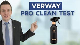 Verway AG Pro Clean Concentrate Reiniger Test mit Simeon Wilhelm   Ilhan Dogan