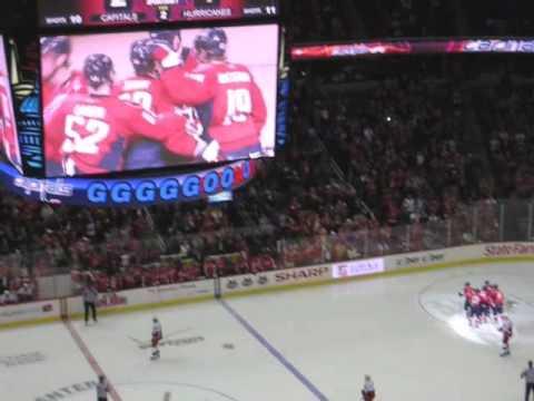 Caps vs. Hurricanes (Goals) 3/14/09