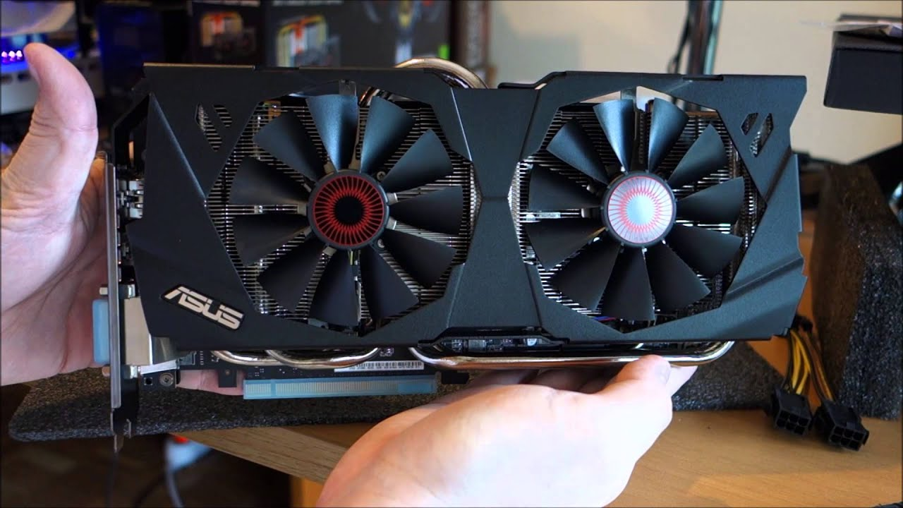Unbox y Full Detalles de la ASUS GTX 980 Strix DIRECT CU II 4G GDDR5 OC