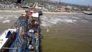 Texas Star Flyer on-ride HD POV Galveston Island Historic Pleasure Pier