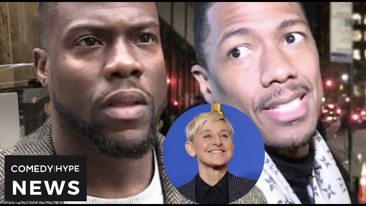 Kevin Hart Called Out For Publicly Defending Ellen Over Nick Cannon - CH News