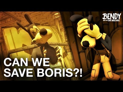 Can We Save Boris in BATIM Chapter 4? (Bendy & the Ink Machine Discussion)