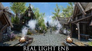 TES V - Skyrim Mods: Real Light ENB