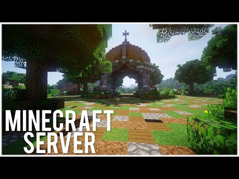 How To Build A Minecraft Server Spawn In 1 HOUR