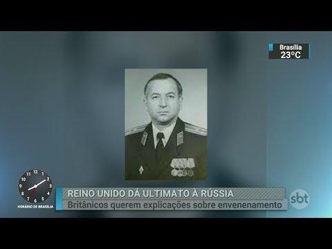 Vence o prazo para Rússia explicar envenenamento de ex-espião | SBT Brasil (13/03/18)