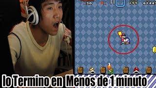 El Record Mundial de Super Mario World que Nadie Puede Superar
