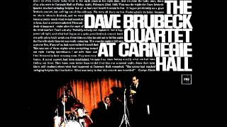 The Dave Brubeck Quartet - Take Five - At Carnegie Hall (1963)