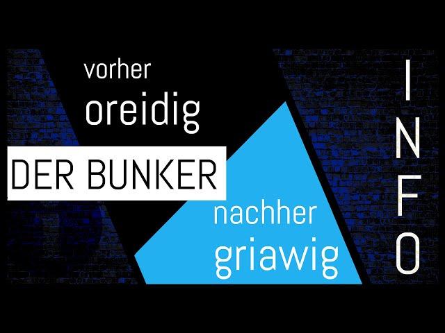 Der Bunker - Vorher | Nachher - 3von3