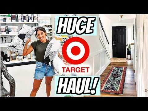 TARGET HAUL SUMMER 2019! TONS OF HOME DECOR!