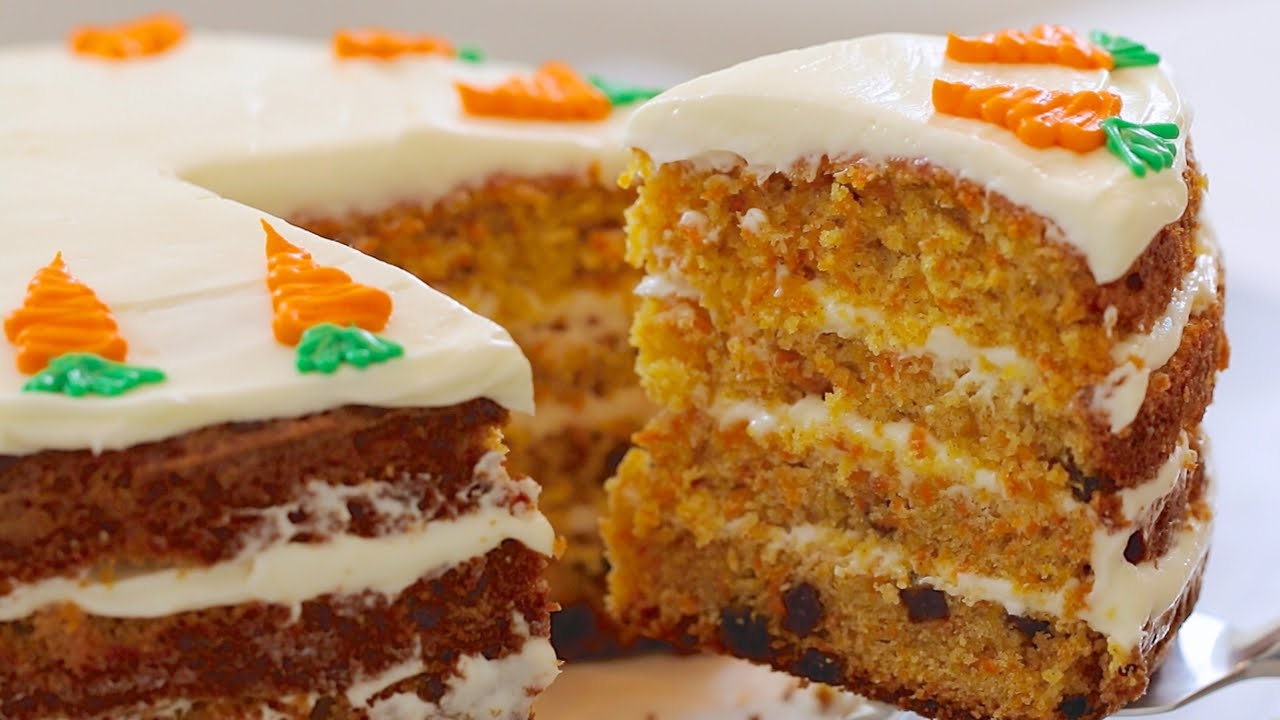 Gemmas Best Ever Carrot Cake Bigger Bolder Baking Youtube