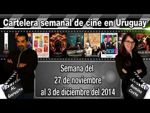 CARTELERA SEMANAL DE CINE EN URUGUAY - Primicia mortal / Nightcrawler / Una dama en Paris