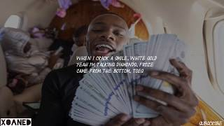 DaBaby Ft. Lil Baby & Moneybagg Yo - TOES [Lyrics]