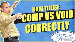 Restaurant Management Tip - What Is the Difference Between a Void and a Comp #restaurantsystems