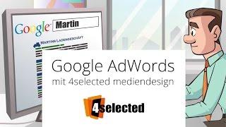 So funktioniert Google AdWords mit 4selected