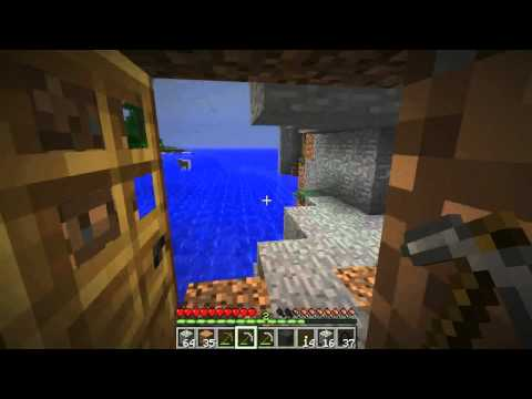Episode #7 Hunting & Trees Down Holes - Minecraft
