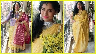 Haldi Outfits for Bride and Indian Wedding Guest || Indian Wedding Series || 2018