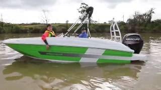 TR Marine World Bayliner Element 75hp 4 Stroke Mercury Outboard