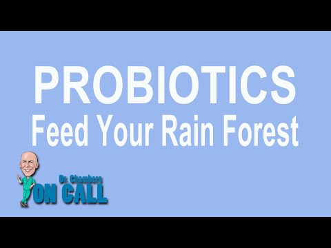 PROBIOTICS - Feed Your Rain Forest..eating bugs is good for you!