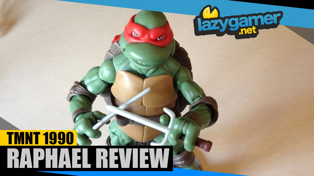 Retro review teenage mutant ninja turtles ii secret of the ooze - Teenage Mutant Ninja Turtles 1990 Classic Raphael Review