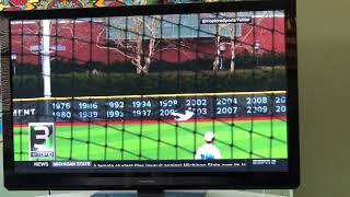 Johns Hopkins Baseball Makes SportsCenter Top 10