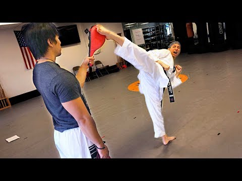 Advanced TKD Combos | Footwork + Kicks