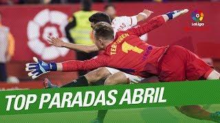 TOP Paradas Abril LaLiga Santander 2017/2018