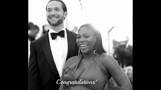 Serena Williams marries Alexis Ohanian in New Orleans - Kim K., Eva Longoria, Beyonce & More (PICS)