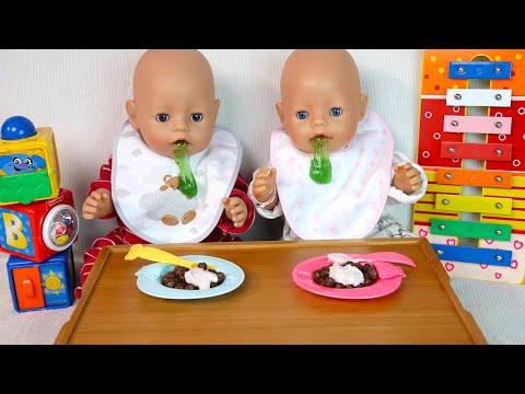 Беби Бон Двойняшки На Карантине Как Мама Играла в Куклы Мультики для детей 108мама тв