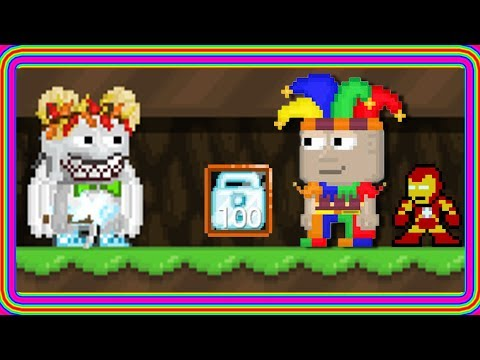 Growtopia | OMFG NEWEST SCAM EVER!! IRONMAN?!?