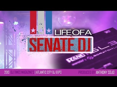 "Life of a Senate DJ | Webisode 3 | DJ 101 @  DJ Times Magazine's "" Atlantic City DJ Expo 2013"""