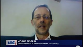 Moshe Feiglin On i24 on Suspected Election Plot