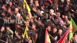 Syria: Besieged Afrin in show of defiance against Turkey