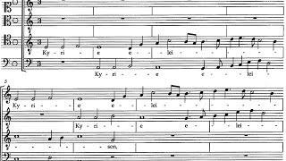 Josquin des Prez / Philippe Caillard Vocal Ensemble, 1961: Missa Pange Lingua - Complete