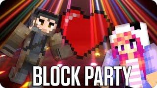 ¡AMOR EN LA FIESTA! BLOCK PARTY | Minecraft