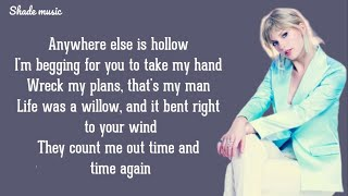 Taylor Swift - Willow (Lyrics)