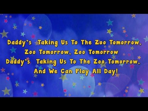 Going To The Zoo | Karaoke Rhymes