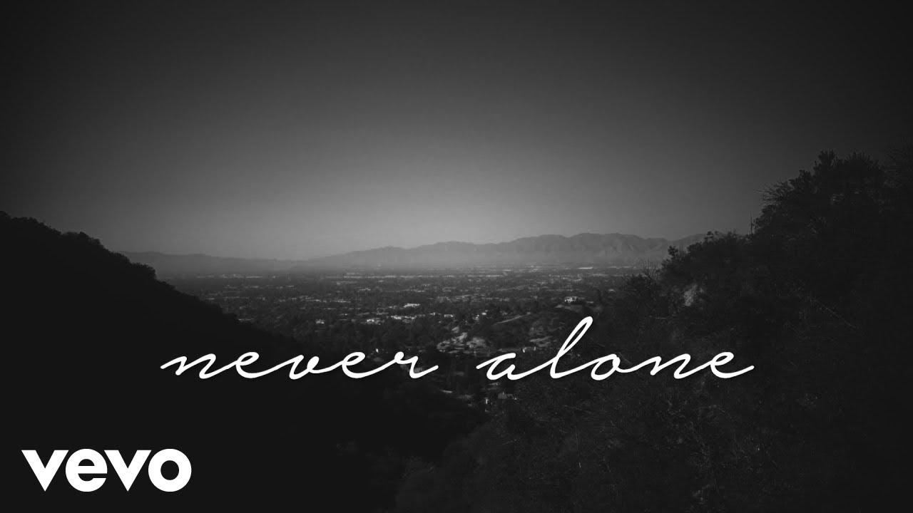 Tori Kelly - Never Alone ft  Kirk Franklin (Lyric Video) ft  Kirk Franklin